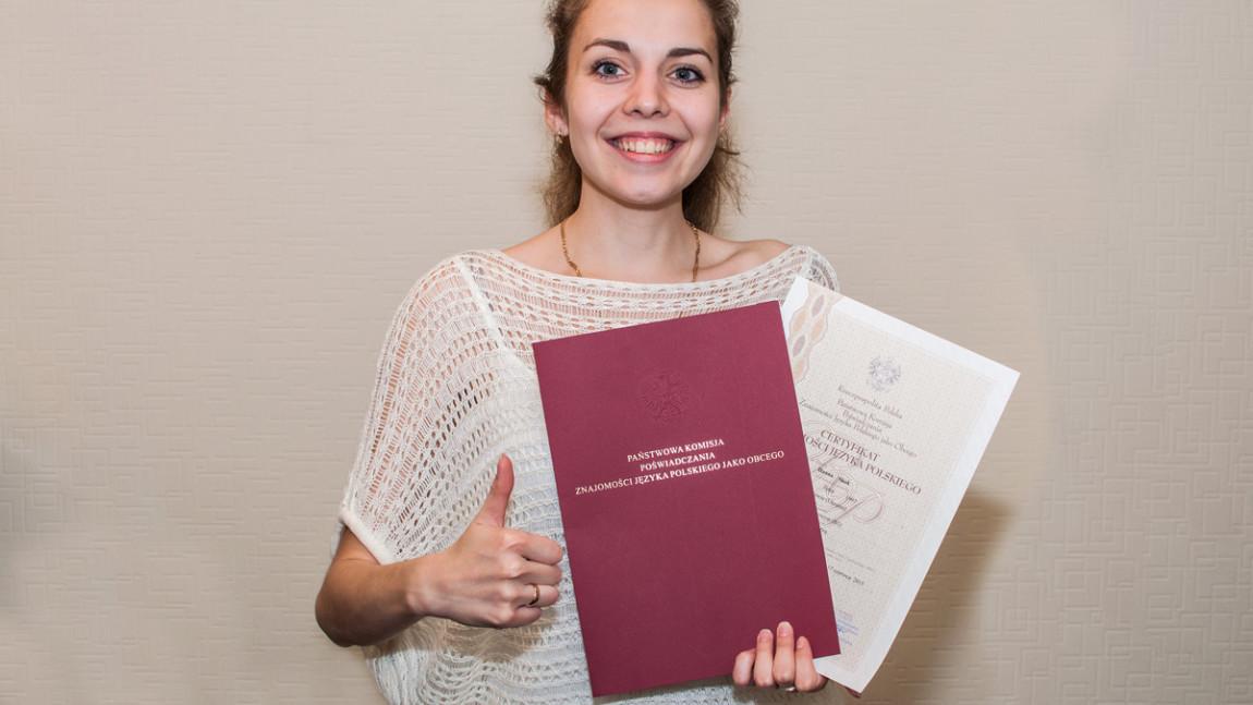 Що дає сертифікат школи польської мови Oratio?