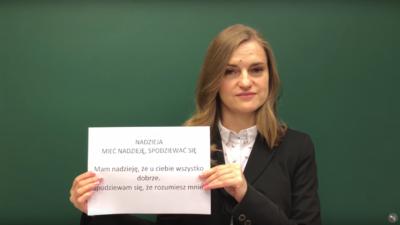 Чувства! Видеоурок польского языка.